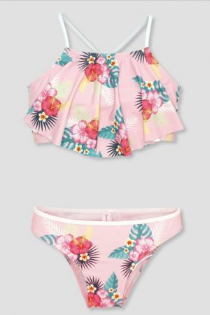 Two piece Tropical Print