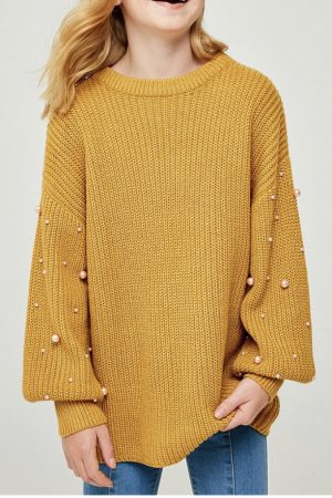 Pearl knit Jumper