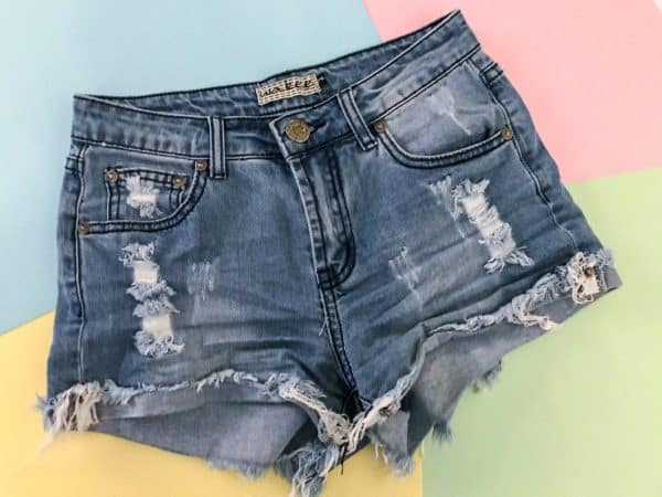 DENIM SHORTS W