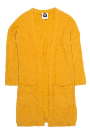 Yellow Pursuit Cardigan